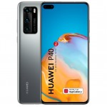 Telefon mobil Huawei P40, Dual Sim, 128GB, 5G, Huawei Mobile Services, Silver Frost
