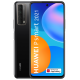 Telefon mobil Huawei P Smart 2021, Dual Sim, 128GB, LTE, Huawei Mobile Services, Midnight Black