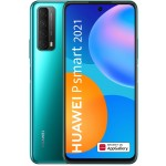 Telefon mobil Huawei P Smart 2021, Dual Sim, 128GB, LTE, Huawei Mobile Services, Crush Green