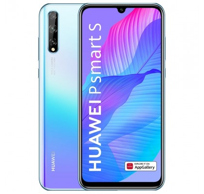 Telefon mobil Huawei P Smart 2020, Dual Sim, 128GB, LTE, Huawei Mobile Services, Breathing Crystal