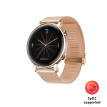 Smartwatch Huawei Watch GT2 Diana B19, 42mm, Metal Strap, Refined Gold