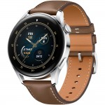 Smartwatch Huawei Watch 3, 46mm, Brown Leather