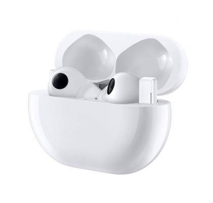 Casti audio Huawei FreeBuds Pro, Ceramic White
